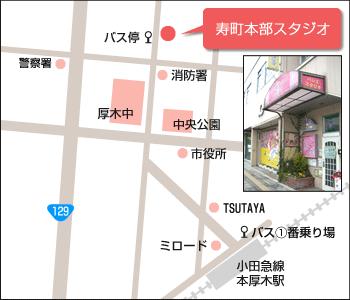 本部スタジオ地図